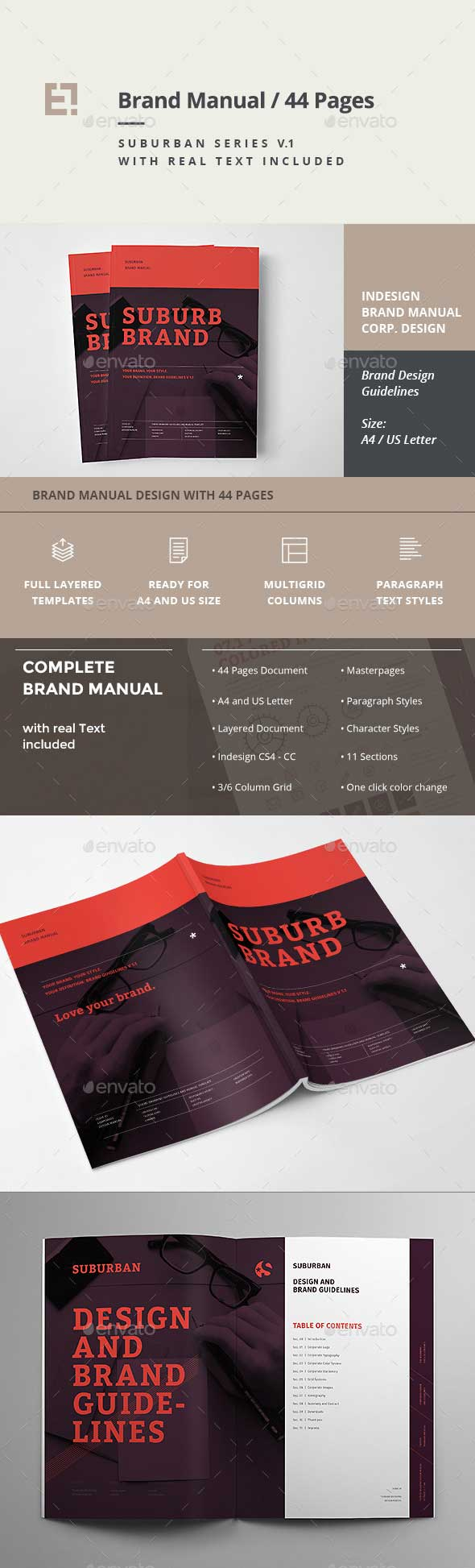 Brand Guideline InDesign Template