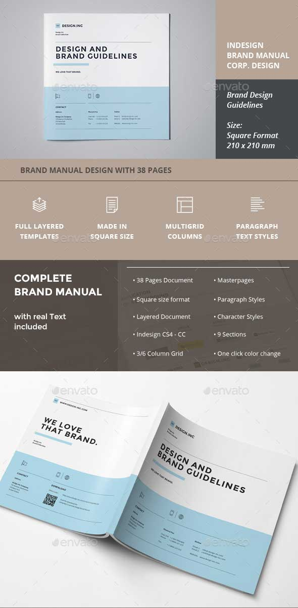 Professional Brand Identity Template