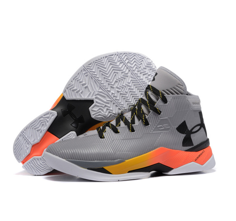 Under Armour Stephen Curry 2.5 Shoes grey oragne