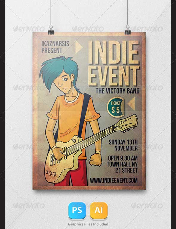 indie-event-flyer-psd-template