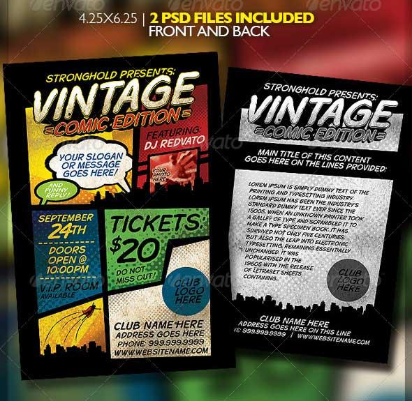 vintage-comic-book-event-flyer-template