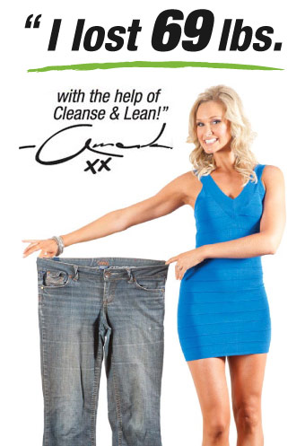 I Lost 69lbs. with the help of Cleanse & Lean