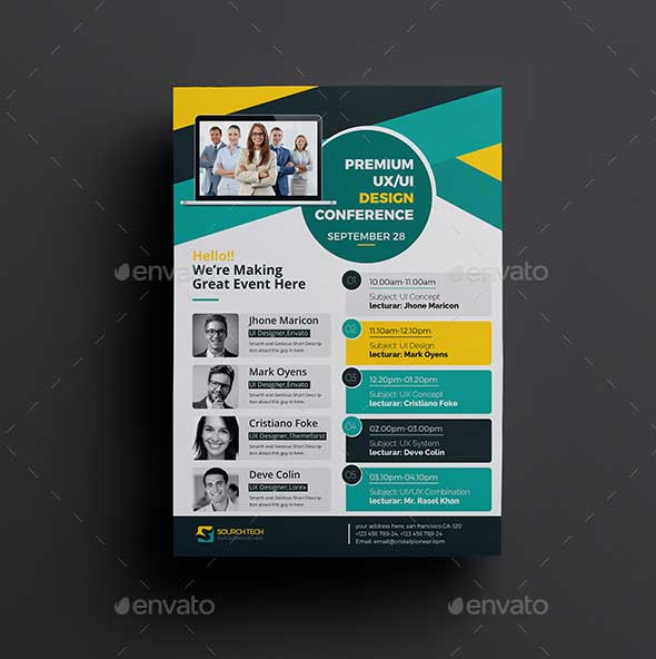 conference-flyer-psd-design-template