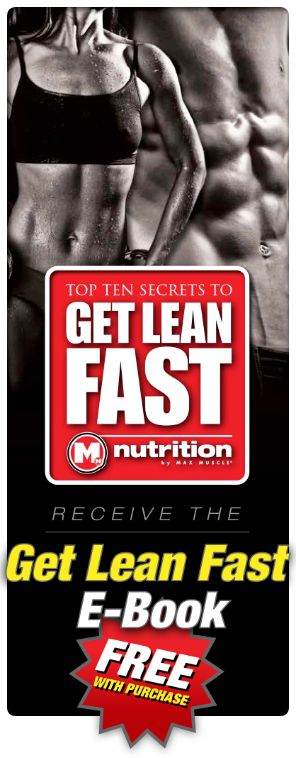 Recieve the Get Lean Fast E-Book FREE With Purchase