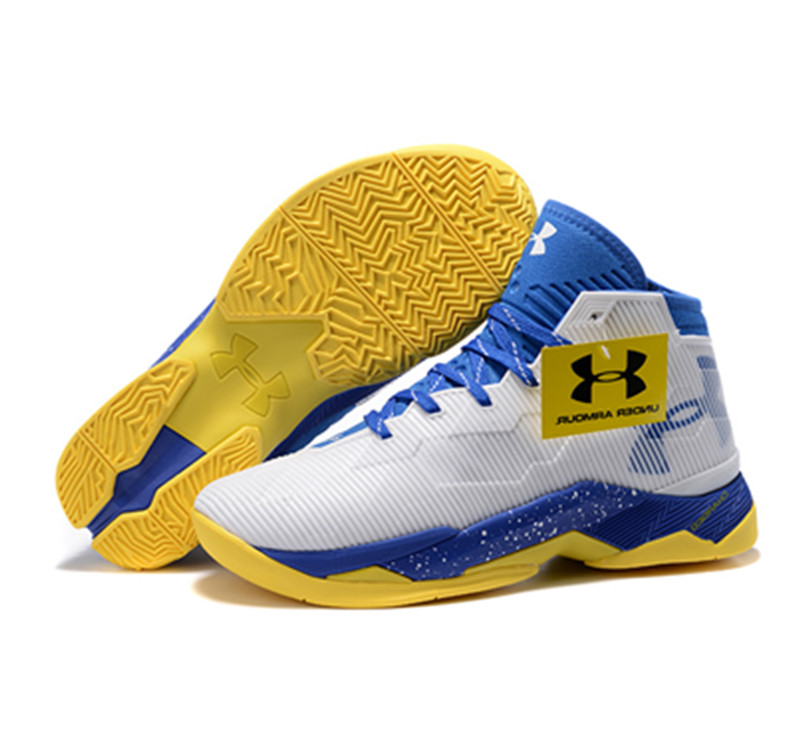 Under Armour Stephen Curry 2.5 Shoes Blue Yellow White