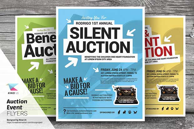 auction-event-flyer-templates