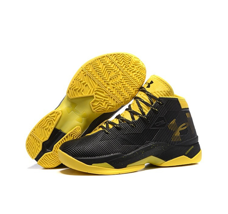 Under Armour Stephen Curry 2.5 Shoes Black Yellow