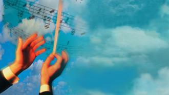 Composer hands image