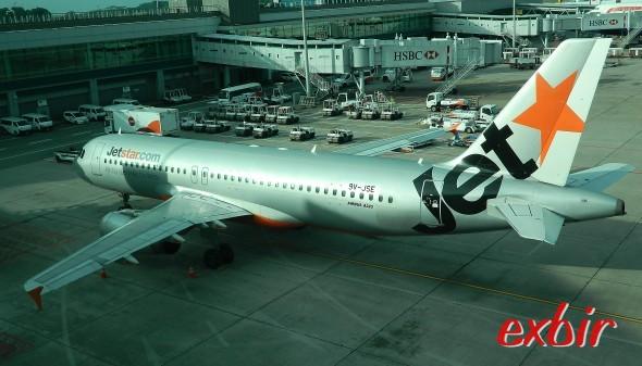 Mit Low-Cost-Carriern Arround the World: Jetstar Asia bietet viele günstige Verbindungen innerhalb Asiens an.  Foto: Christian Maskos