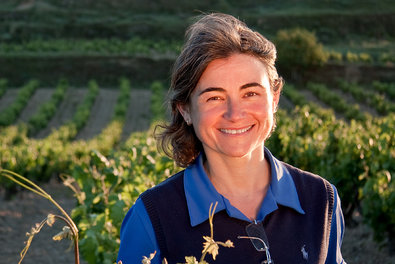María José López de Heredia, above, who, with her sister, Mercedes, and brother, Julio César, runs the winery founded by her great-grandfather.