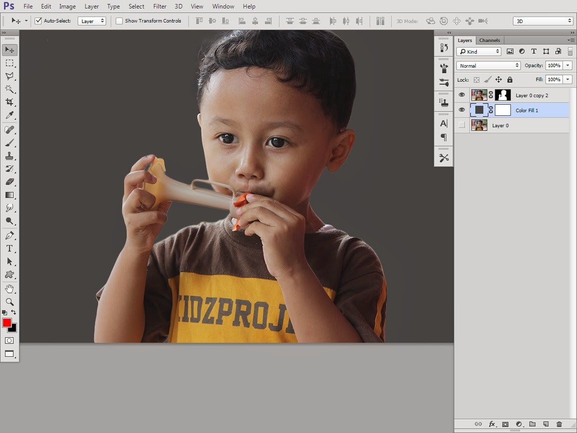photoshop cc Focus Area