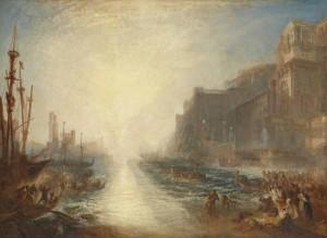 JMW Turner, Regulus 1837 Tate. Turner Bequest 1856