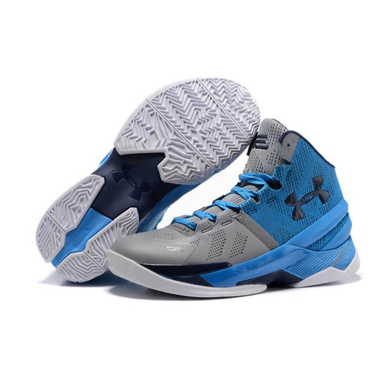 Under Armour Stephen Curry Two Easter signature blue gray