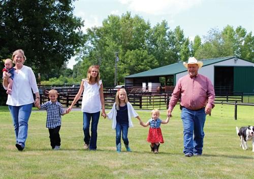 The Trowbridge family