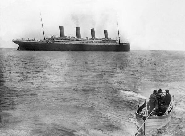 the very last photo of the titanic