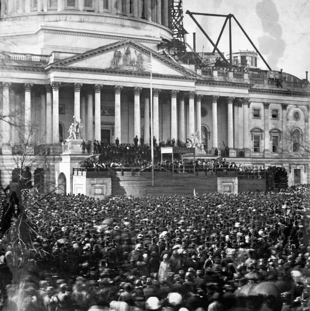 the-inauguration-of-abraham-lincoln-in-1861