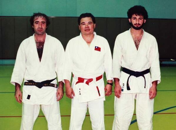 osama bin laden and his judo team mates