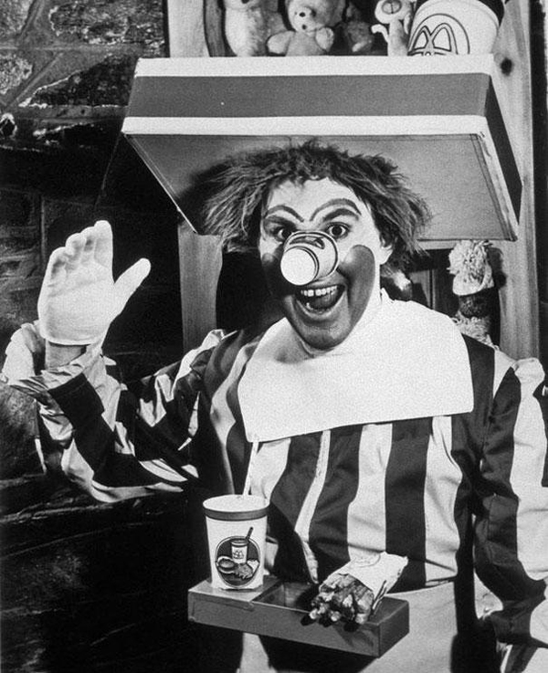 The quite scary and original Ronald-McDonald-1963