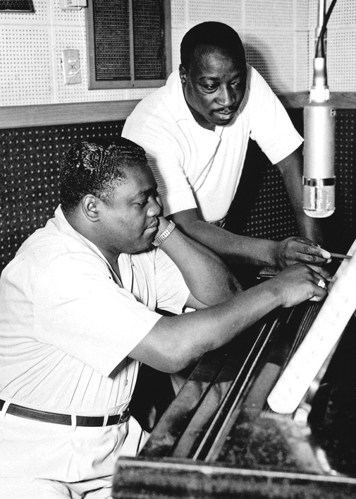 Fats Domino and Dave Barthomolew