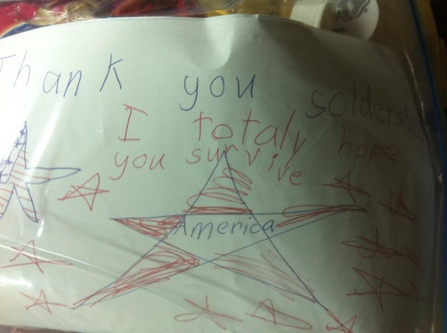 Totally America is listed (or ranked) 11 on the list 51 Unintentionally Hilarious Kids' Drawings