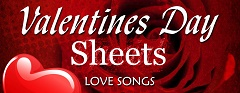 Valentine's Day: Free Love Songs sheet music for Piano