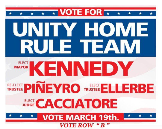 The Freeport PBA Endorses The Unity Home Rule Party