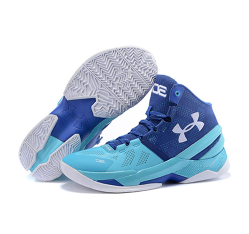 Under Armour Stephen Curry 2 Shoes Father And Son Blue