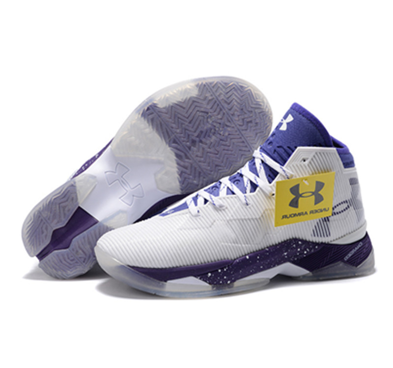 Under Armour Stephen Curry 2.5 Shoes White Blue