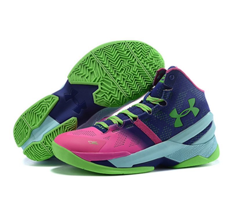 Under Armour Stephen Curry 2 Shoes Red Green