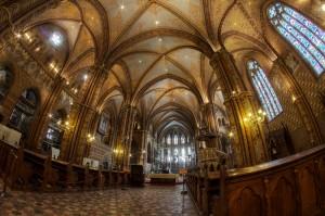 Matthias Church Interior Buda Castle Budapest Jeremy Seto