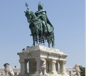 St Stephen, Hungary's first king
