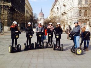 Winter Segway Tour in Budapest