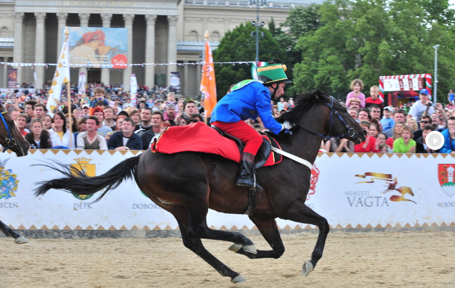 Budapest National Gallop on Heroes Square