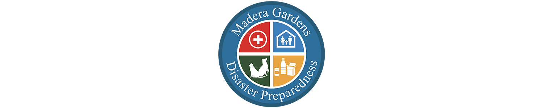 Madera Gardens Disaster Preparedness