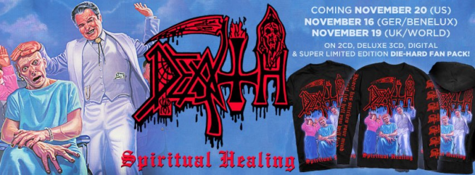 Spiritual Healing Deluxe Reissue to See Release