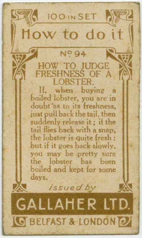 How to judge the freshness of a lobster-text