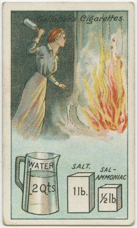 How to make a fire extinguisher