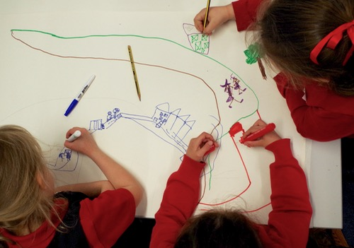 Mapping our walk