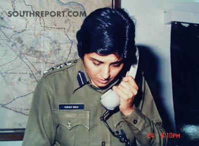 kiran bedi as IPS officer