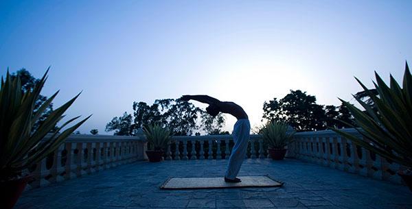 Ananda yoga terrace