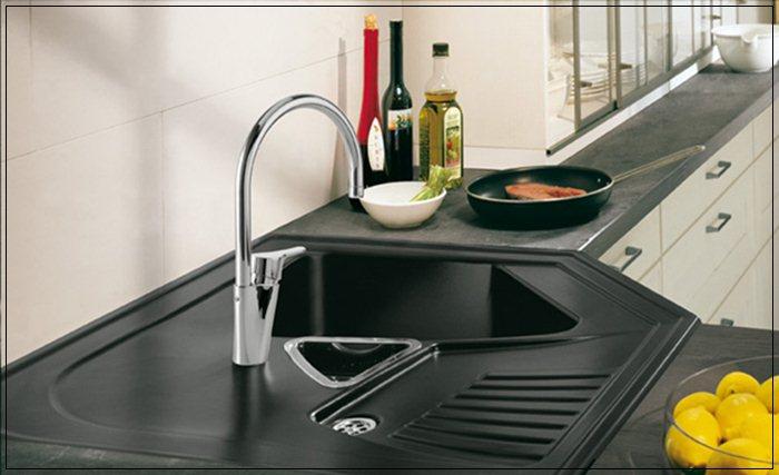 Image of: Corner Kitchen Sink Ideas