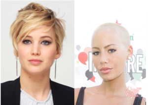 Jennifer Lawrence (left) via ?picsndquotes.com and Amber Rose (left) via ?mzinferno.wordpress.com