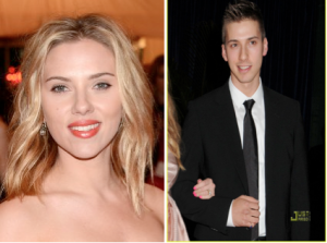 Scarlett Johansson (left) via Imdb.com and brother Hunter Johansson (right) via Justjared.com