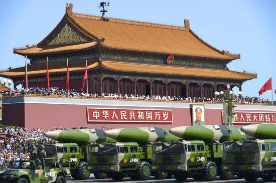 美上将称中国威胁美海军 两大技术直戳美