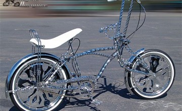 Lowrider Bikes With Spinners