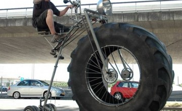 It's the most brutal bike you'll ever see