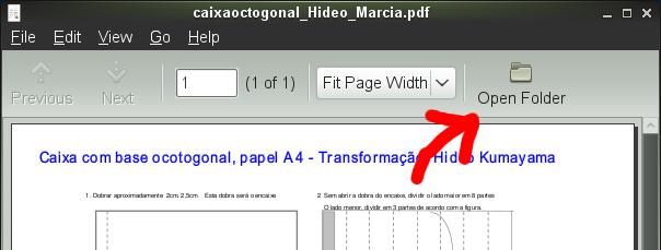 Open Folder command