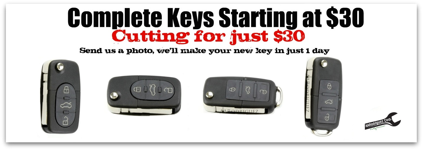 Awesome VW Keys cut cheap