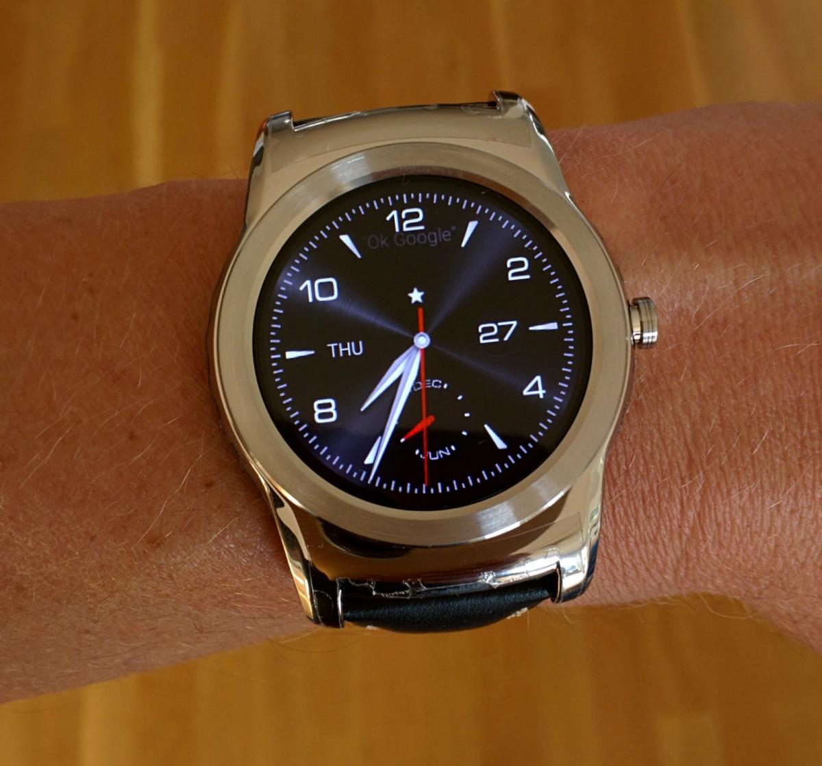 my LG watch urbane