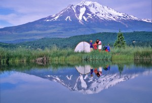 Family Camping near Mt. Shasta - Mt. Shasta, California
